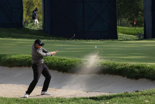 Sami Välimäestä tuli US Openissa kolmas suomalainen, joka on pelannut golfin major-kilpailussa.