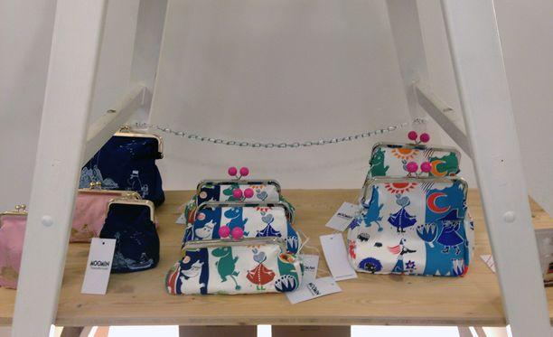 Ivana Helsingin Moomin Collection -mallisto on myynnissä Wienissä, Sight Store -putiikissa.