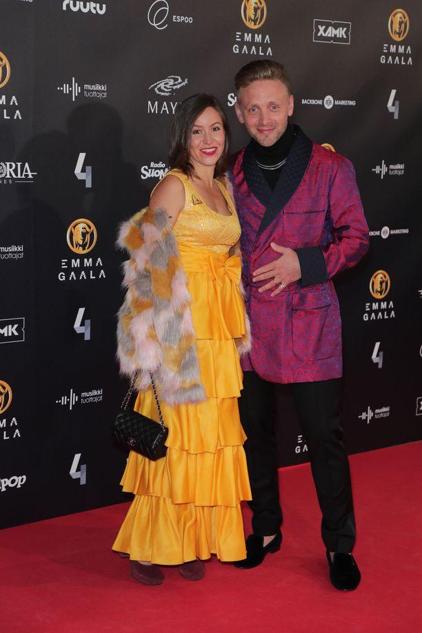 Reino ja Maria Nordin ovat olleet naimisissa yli 10 vuotta.