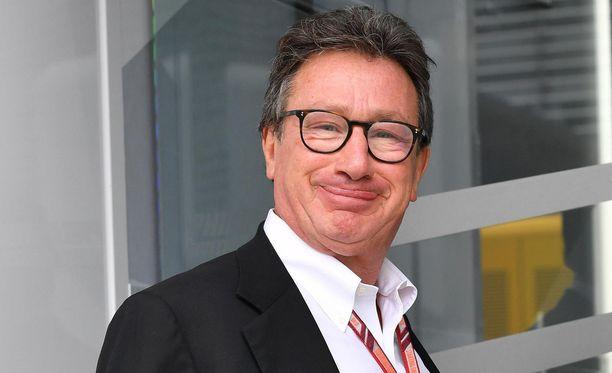 Louis Camilleri on Ferrarin uusi toimitusjohtaja.