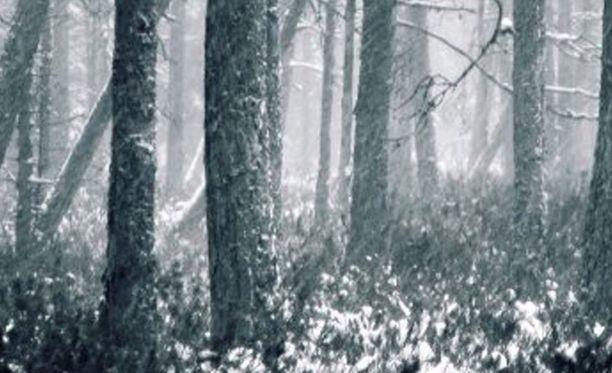 Vainaja oli peittyi lumeen, eikä häntä löydetty edes poliisikoirien kanssa.