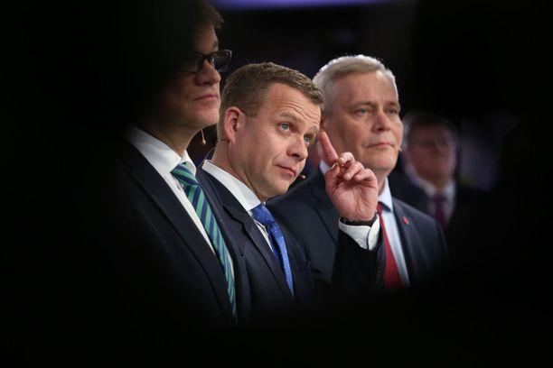 Juha Sipilä, Petteri Orpo ja Antti Rinne ovat kaikki kovan haasteen edessä vaalien lähestyessä.