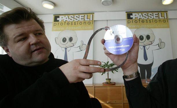 Passeli-ohjelmisto oli Heikki Taipaleen kahdesta kuuluisasta keksinnöstä se taloudellinen jättimenestys.