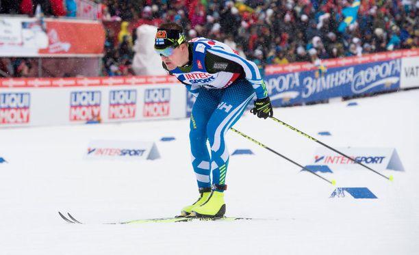 Tuleeko tasatyönnöstä oma kilpailumuoto? Kuvassa pumppaa Sami Jauhojärvi.