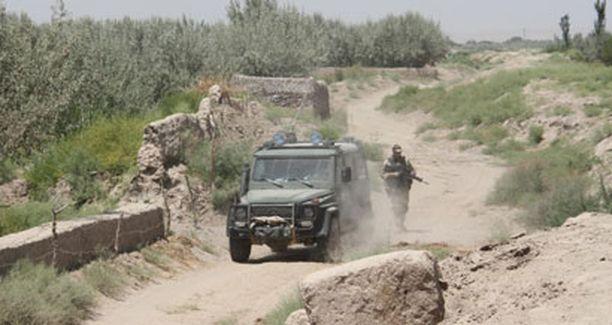Suomalaiset ja ruotsalaiset rauhanturvaajat joutuivat tulitaisteluun Pohjois-Afganistanissa. (Kuvan henkilö ei liity tapahtumiin.)