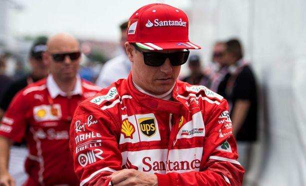 Kimi Räikkönen ei onnistunut Kanadassa.
