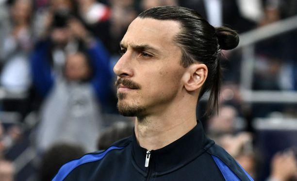 Zlatan Ibrahimovic muuttaa Manchesteriin.