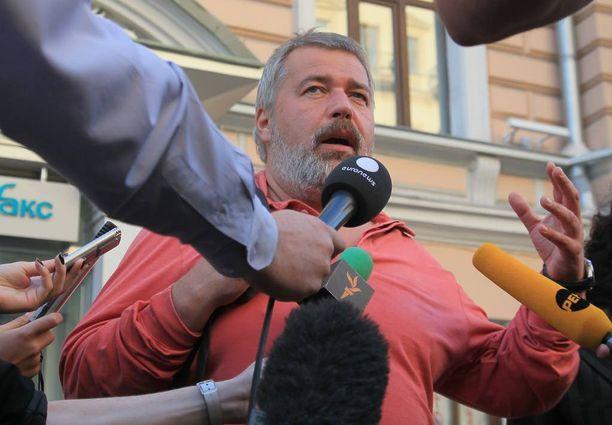 Novaja Gazetan päätoimittaja Dmitry Muratovin mukaan suurin osa venäläismediasta on muuttunut joukkopropagandan ja manipulaation välineiksi.