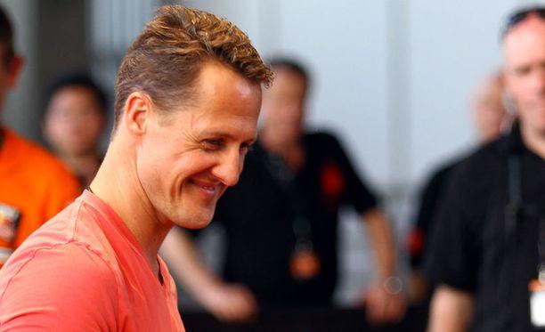 Michael Schumacherin tilassa on managerin mukaan positiivisia merkkejä.