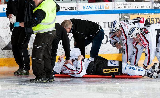 Tästä hetkestä alkoi Lauri Tukosen raskas toipumisprosessi.