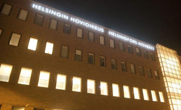 Helsingin hovioikeus kovensi käräjäoikeuden tuomiota.