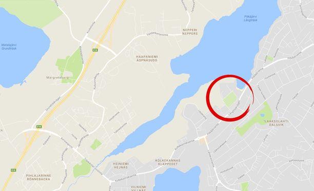 10-vuotias poika joutui ryöstön uhriksi, kun hän lähti Laaksolahden urheilupuistolta.
