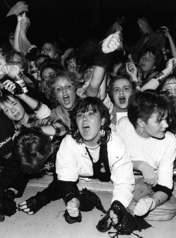 Dingo aiheutti valtavaa fanihysteriaa 1980-luvulla. Parhaimpina vuosina bändin jäsenet piti salakuljettaa keikkapaikoille roudauslaatikoissa.