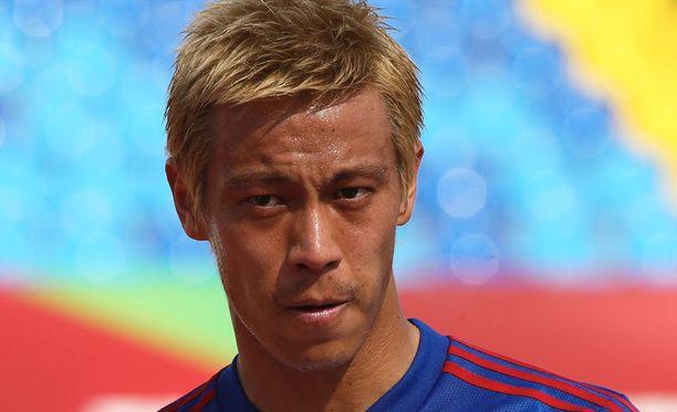 Keisuke Honda on vaihtamassa Moskovan Milanoon.