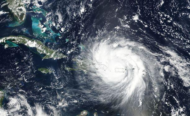 Hurrikaani Maria on taas vahvistunut.