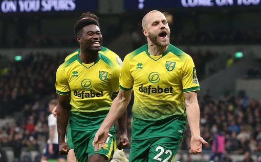 Teemu Pukki ja Norwich vastasivat eurokenttien suurimmasta shokkituloksesta – tässä ovat kauden suurimmat yllätykset