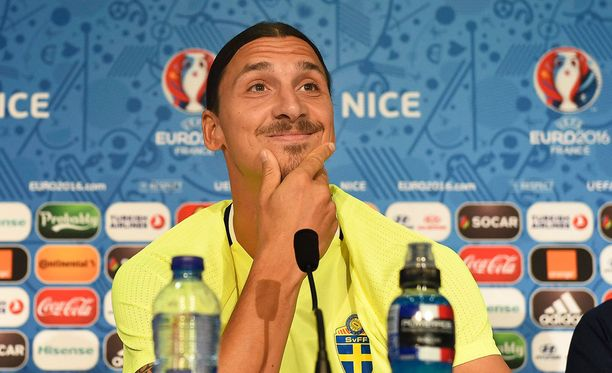 Zlatan Ibrahimovicin Ruotsi kohtaa huomenna lohkon päätösottelussa Belgian.