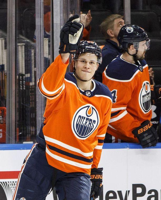 Jesse Puljujärvi otti tällä kaudella askeleen eteenpäin NHL-pelaajana. 19-vuotias vaatii itseltään vielä paljon enemmän.
