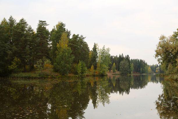Keravanjoki arkistokuvassa.