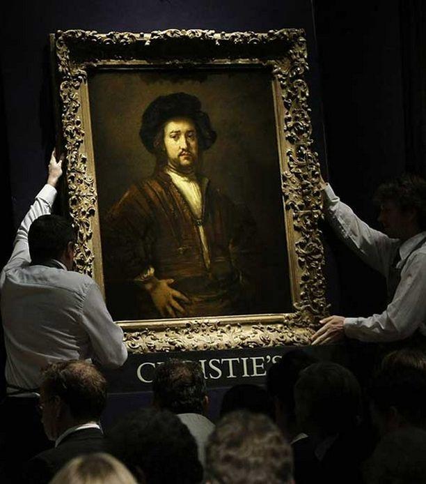 Ennen huutokauppaa maalaus ei ollut julkisesti nähtävillä lähes 40 vuoteen.