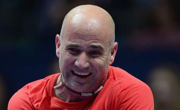 Andre Agassi on yksi tenniksen värikkäimpiä pelaajalegendoja.