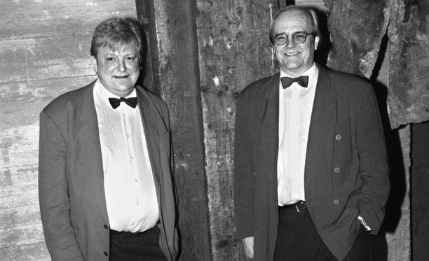Jouko (oikealla) ja Kosti kuvattuna 1996.