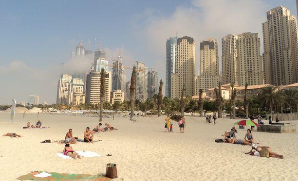 Isä esti tyttärensä pelastamisen hukkumiselta Dubaissa.