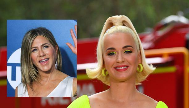 Katy Perry pyysi Jennifer Anistonia esikoisensa kummitädiksi.