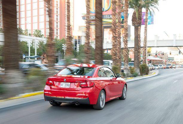 Lyhyt perä on BMW:n coupemallien tavaramerkki.