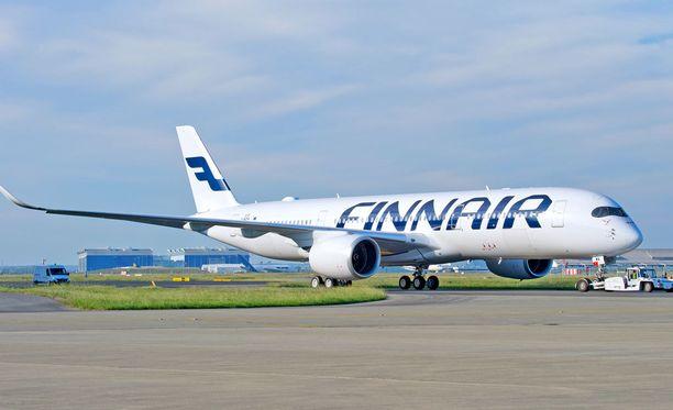 Finnairin Airbus A350 XWB tekee tänään neitsytmatkansa.