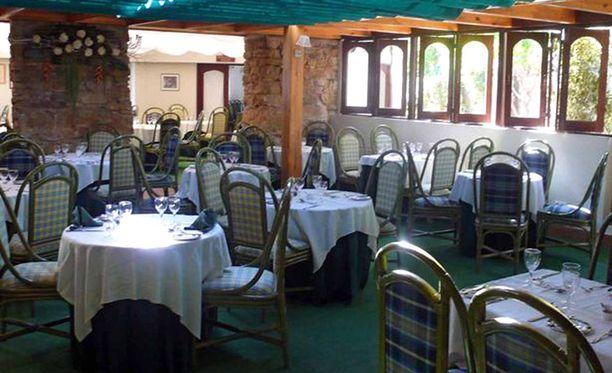 Tässä ravintolassa vanhemmaat olivat syömässä, kun Madeleine katosi. Se on parin sadan metrin päässä perheen lomahuoneistosta.