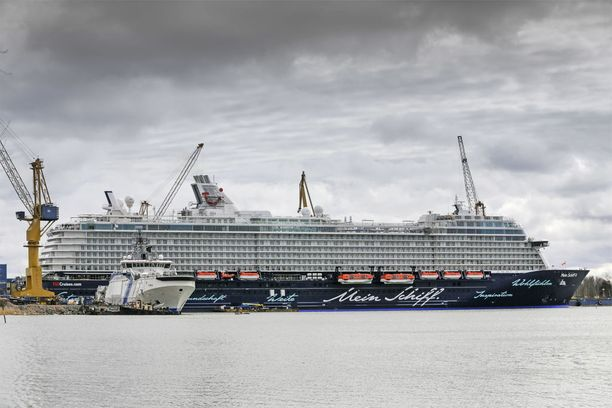 Kuva Meyer Werftin Turun telekalta huhtikuulta 2015.