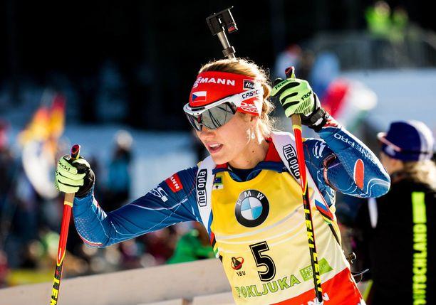 Gabriela Koukalova (os. Soukalova) lopetti kilpailemisen 2017.