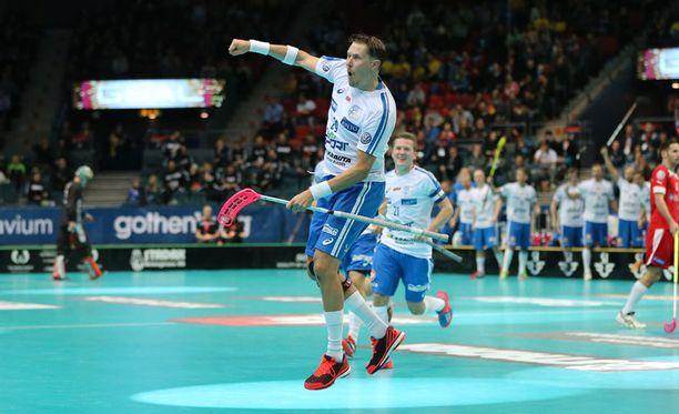 Konkari Mika Kohonen on avainasemassa Suomen joukkueessa.