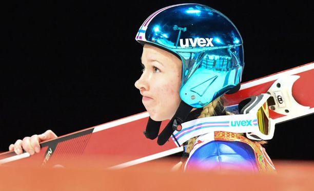 Julia Kykkänen jäi sijalle 22.