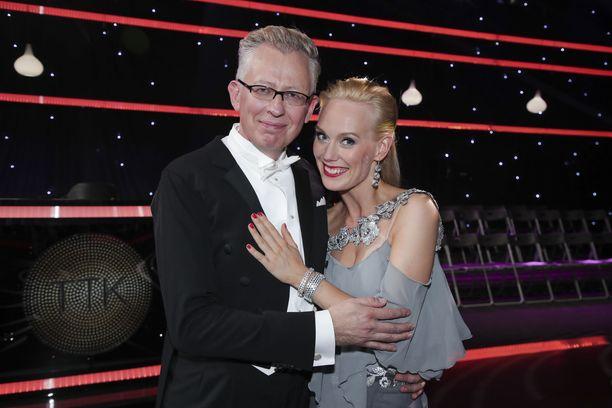 Pekka Pouta ja opettajansa Jutta Helenius aikovat vetää täysillä ja himmailematta niin pitkälle kuin tuomarit ja kansa suovat.