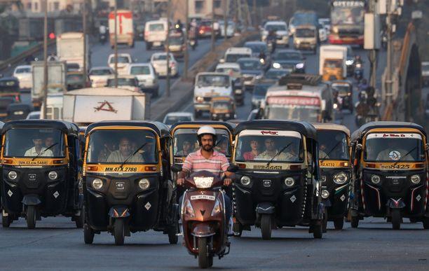 Thaimaan liikenne on yksi maailman vaarallisimmista.