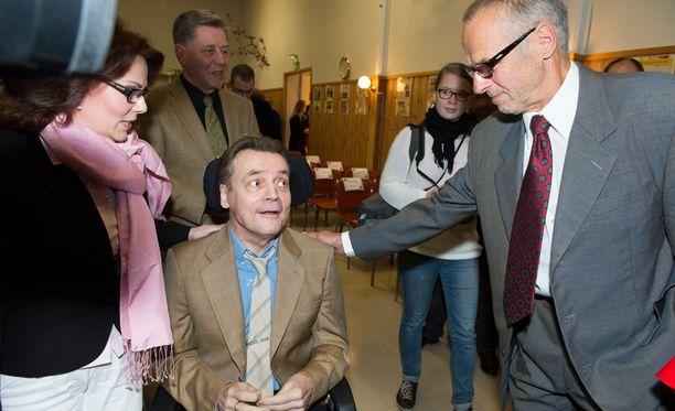 Timo T.A. Mikkonen ja Lasse Virén olivat ystävyksiä vuosikymmenten ajan.