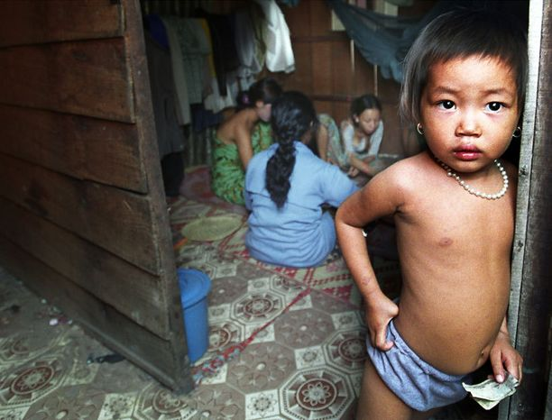 Jopa kolmannes Kambodzhan seksityöläisistä on lapsia.