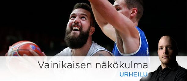 Suomi oli Serbiaa vastaan ongelmissa järkälemäisen Miroslav Raduljican (vas.) kanssa.