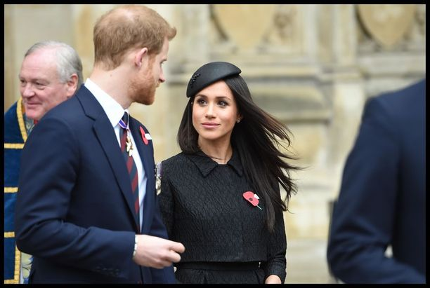 Prinssi Harry ja kihlattunsa Meghan Markle osallistuivat viime keskiviikkona Anzac-päivän juhlallisuuksiin.ss
