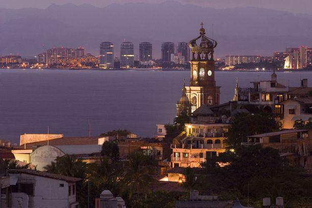 Meksikon Puerto Vallarta on talven kiinnostavia kaukokohteita.