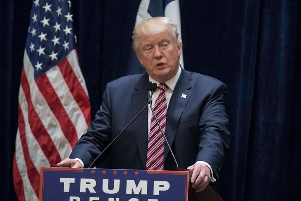 Presidentti Donald Trump kertoi Kiinan liikkuvan kohti Hongkongin rajaa.