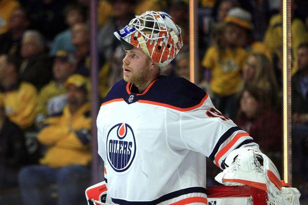 Mikko Koskinen on avannut NHL-kautensa kolmella voitolla. Torjuntaprosentti on komea 93,5.