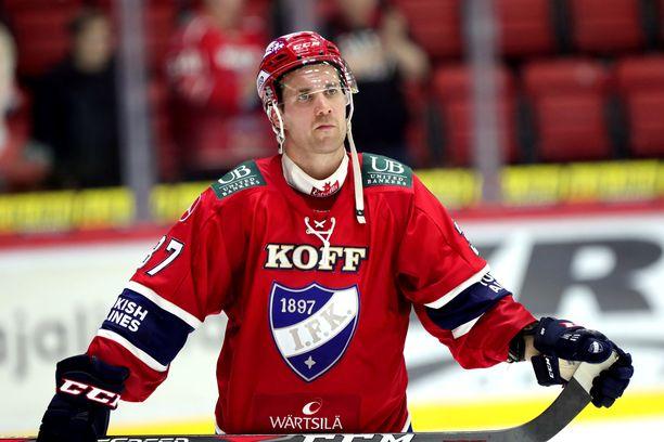 Ilmari Pitkäsen ja HIFK:n yhteinen taival kesti vain yhden kauden ajan.