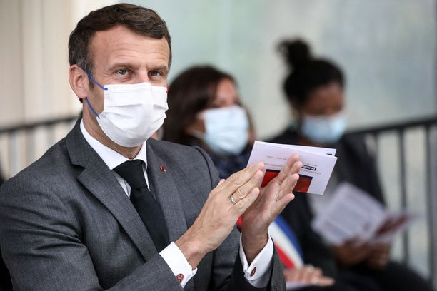 Ranskan presidentti Emmanuel Macron on tiukentanut linjaansa suhteessa radikaaliin islamiin.