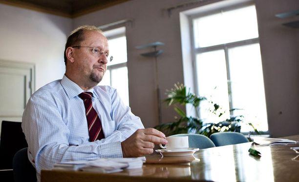 Esa Härmälä toimii Metsähallituksen toimitusjohtajana.