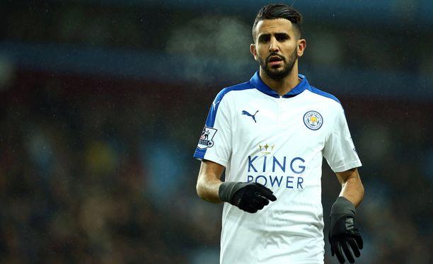 Riyad Mahrezin surkea pilkku kostautui Leicesterille.