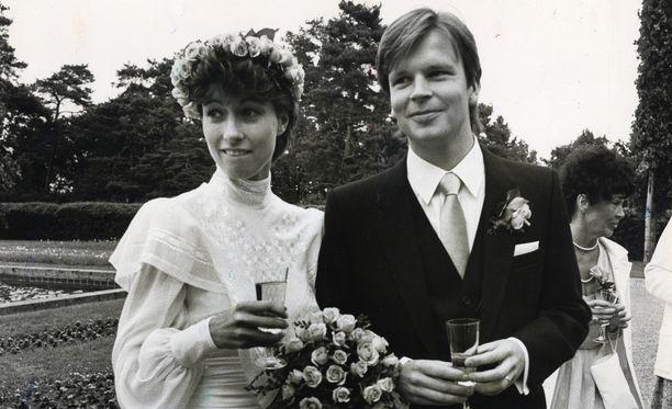Assi Koivisto ja Jari Komulainen kuvattuna vuonna 1982.