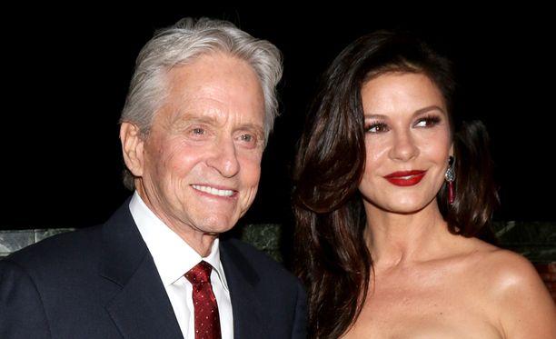 Michael Douglas ja Catherine Zeta-Jones ovat olleet aviossa jo 16 vuotta.